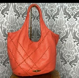 PRICE DROP!!!!  ELLIOT LUCCA CORAL LEATHER